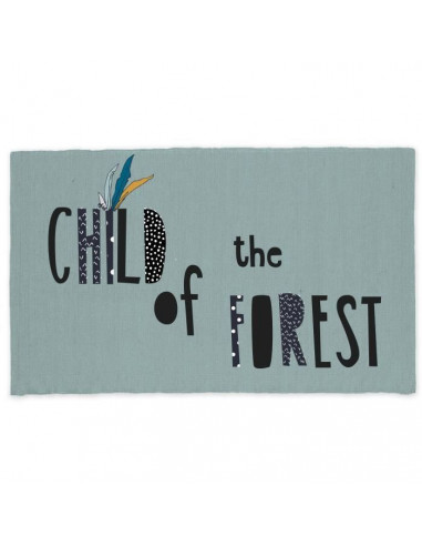 TODAY Tapis Coton Forest 60 x 120 cm