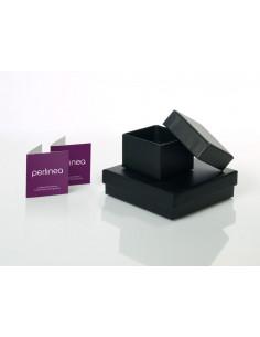 BAMBAM Boîte cadeau qui veut dormir - Des la naissance - Blanc et gris - Tissu - 24,5 x 7 x 18 cm